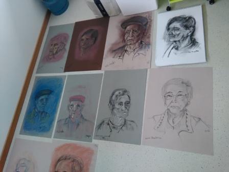 Sessão de Pintura