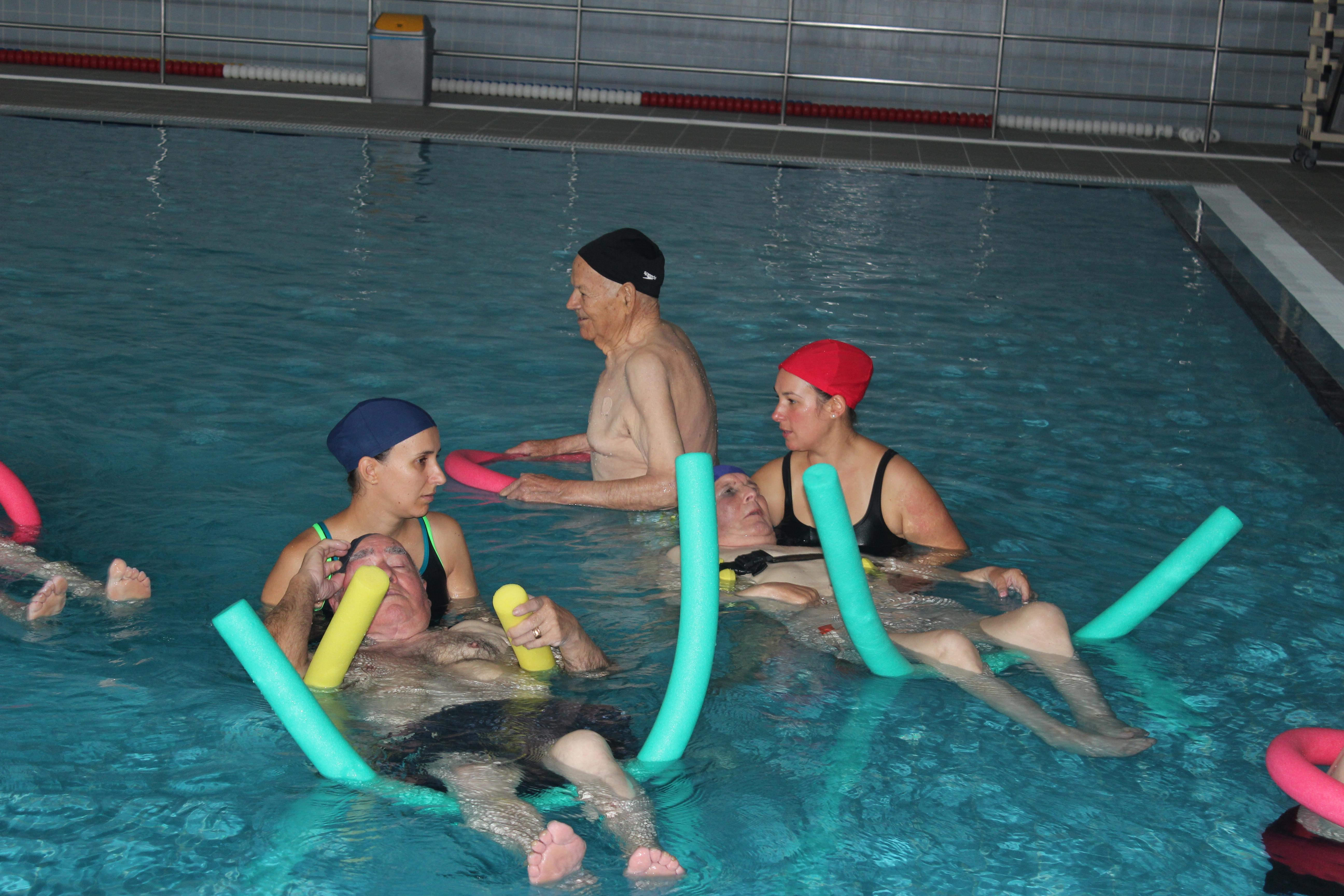 Ida à piscina